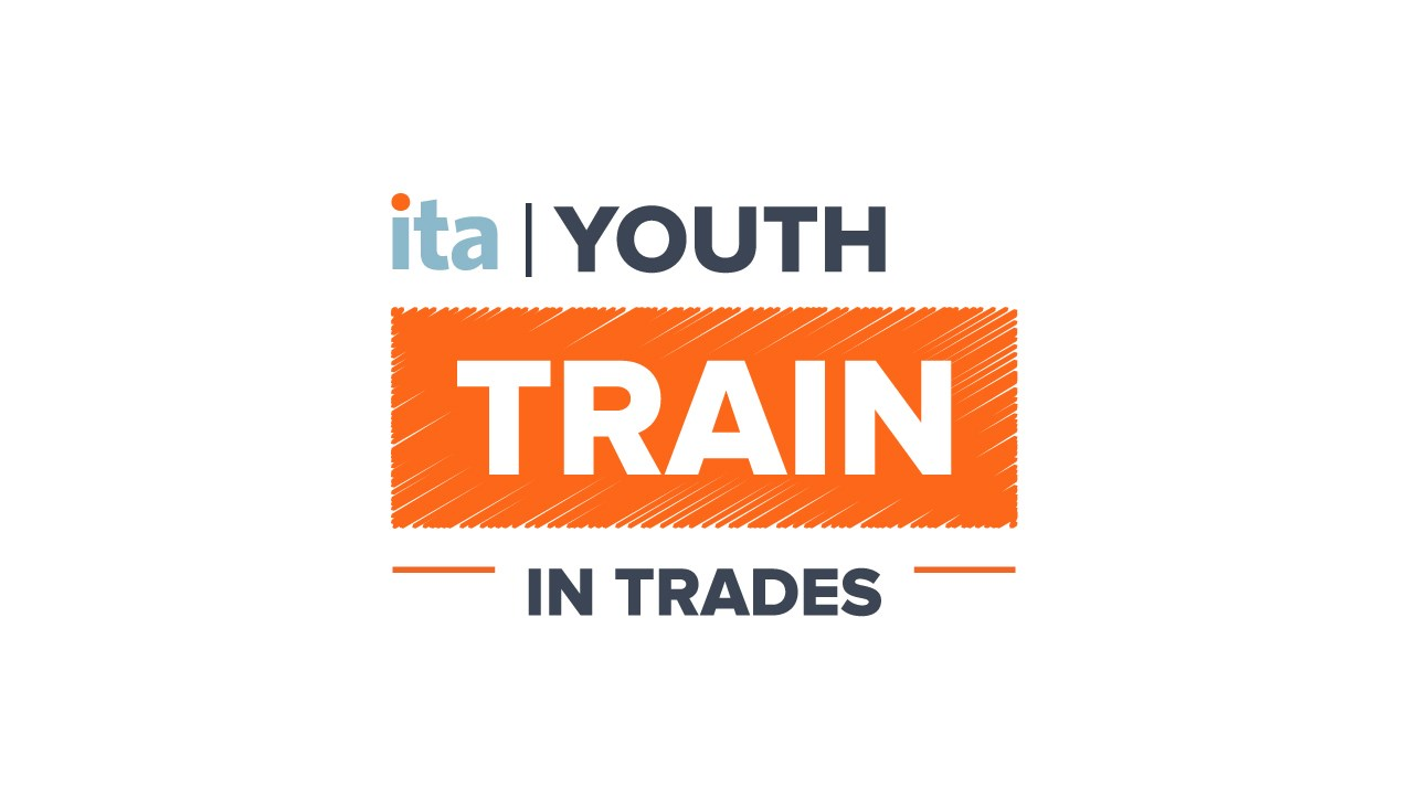 youth train in trades logo colour