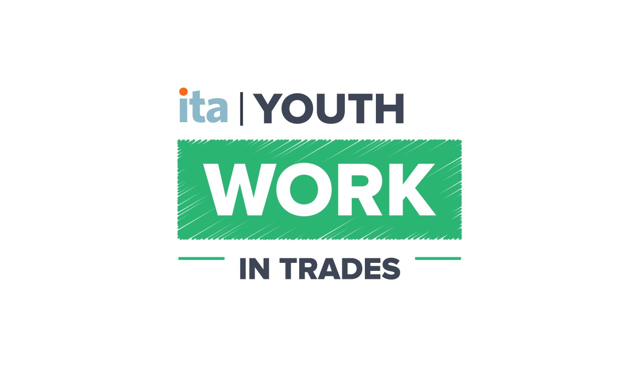 Youth Work in Trades Colour Logo