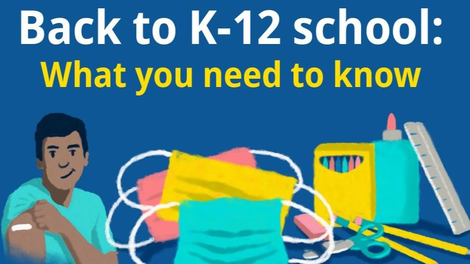 Back to School Protocols for K-12